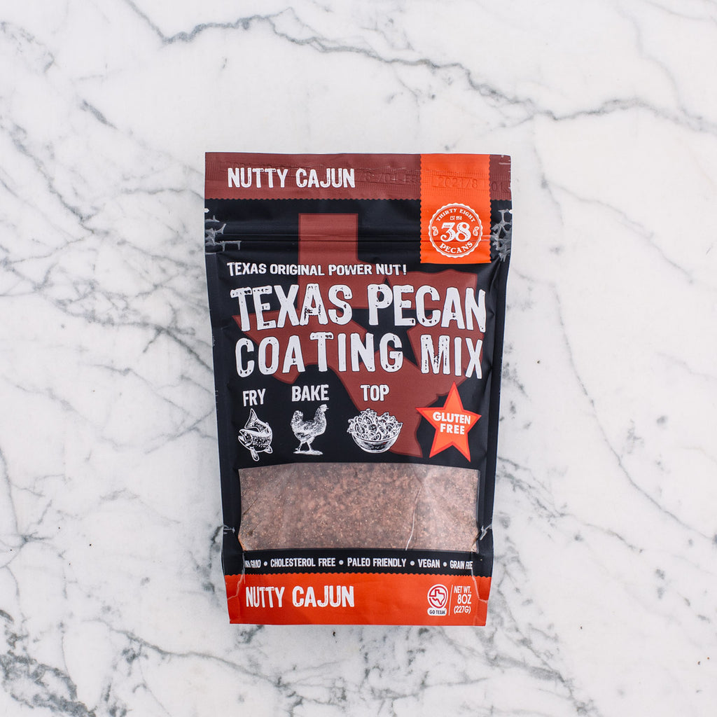 Nutty Cajun Texas Pecan Meal 8 oz bag