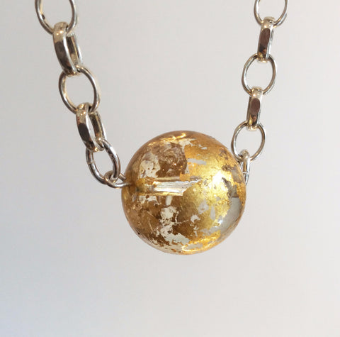 ORNAMENT & CRIME LARGE EARTH NECKLACE