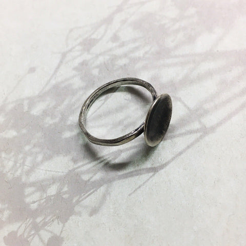 Flat Mercury Ring