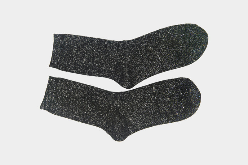 WDR RIBBED SPARKLY SOCKS