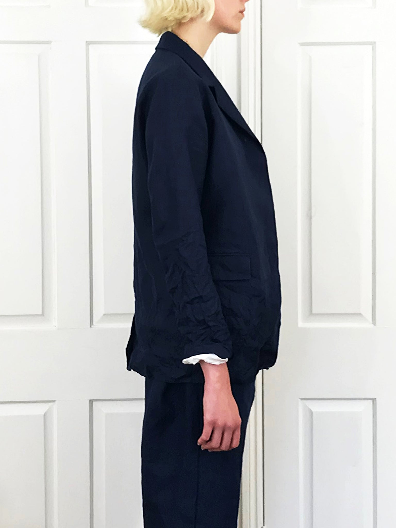 Mody Jacket (Linen Navy)