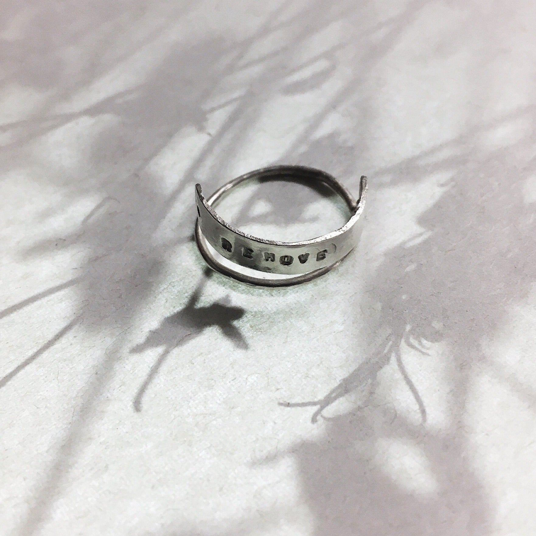 The Irony set ring 'Remove'  double ring