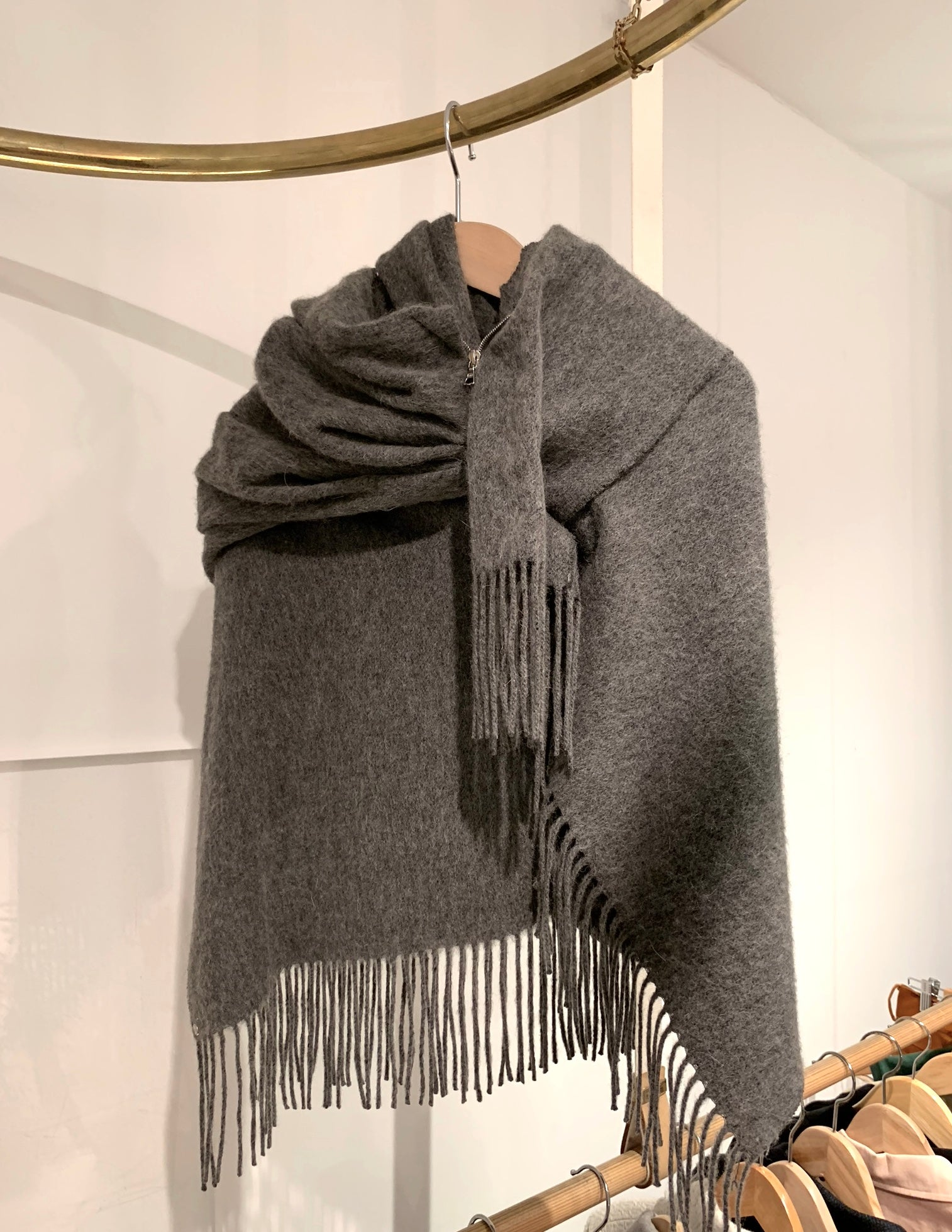 BLESS Timewarmer wool scarf