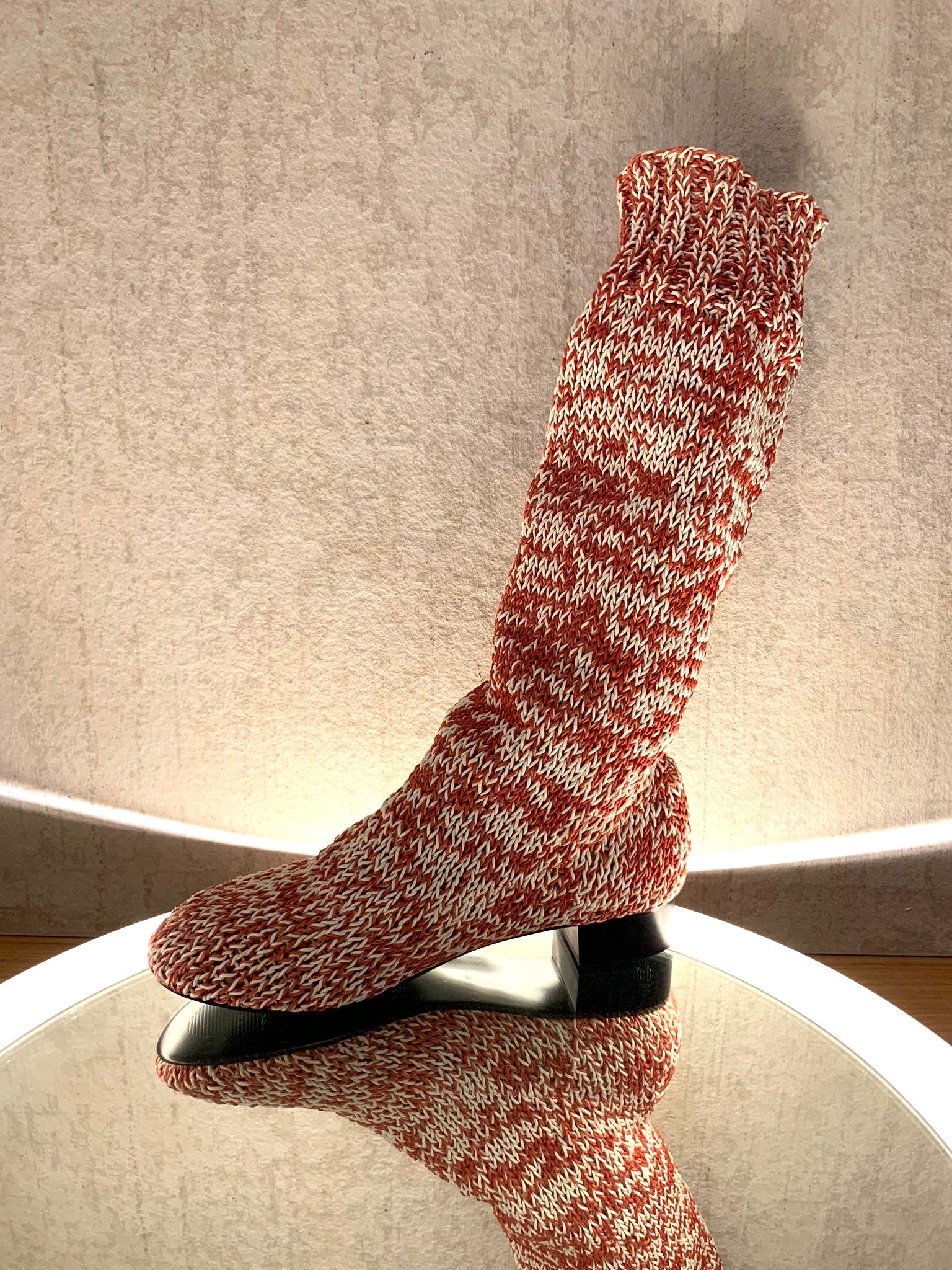 BLESS ERAM HIGH KNITTED BOOTS