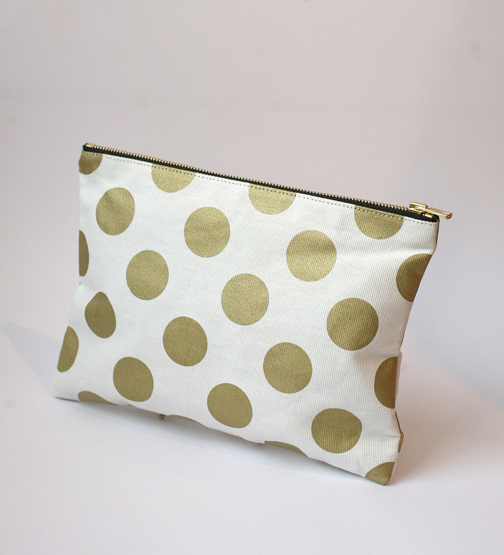 RANEE & COMPANY POLKA DOT PURSE