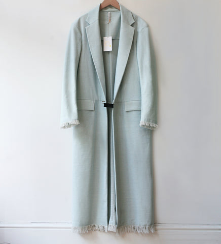 WONDEROUND TAILORED LONG DENIM COAT