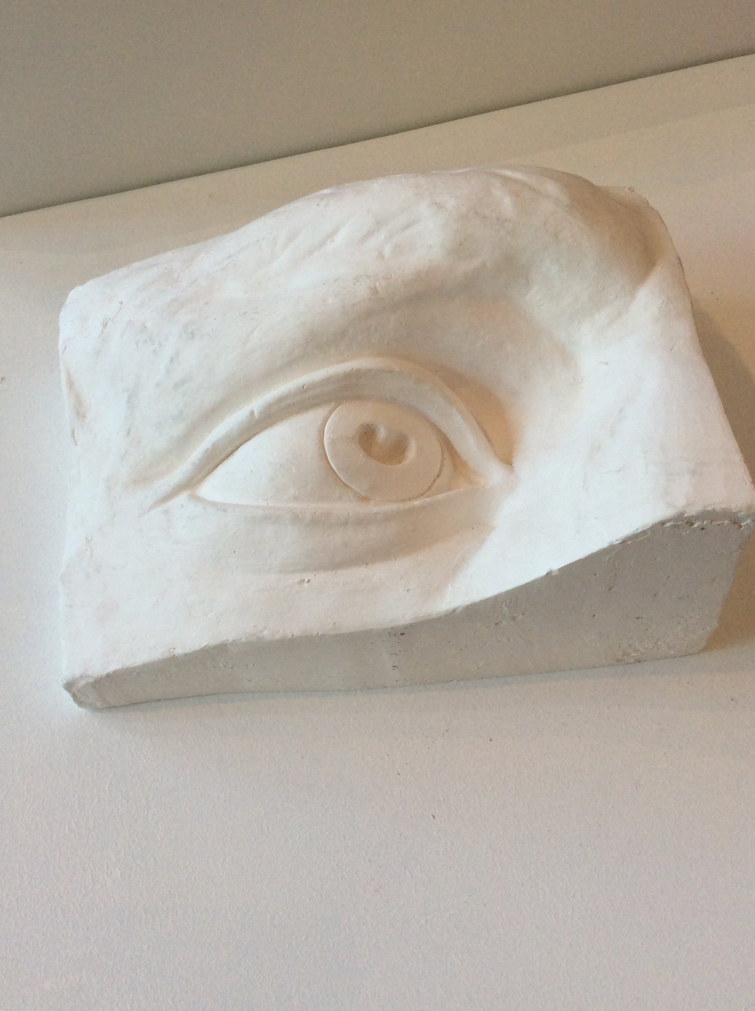 Plaster , Rectangle Face with eye