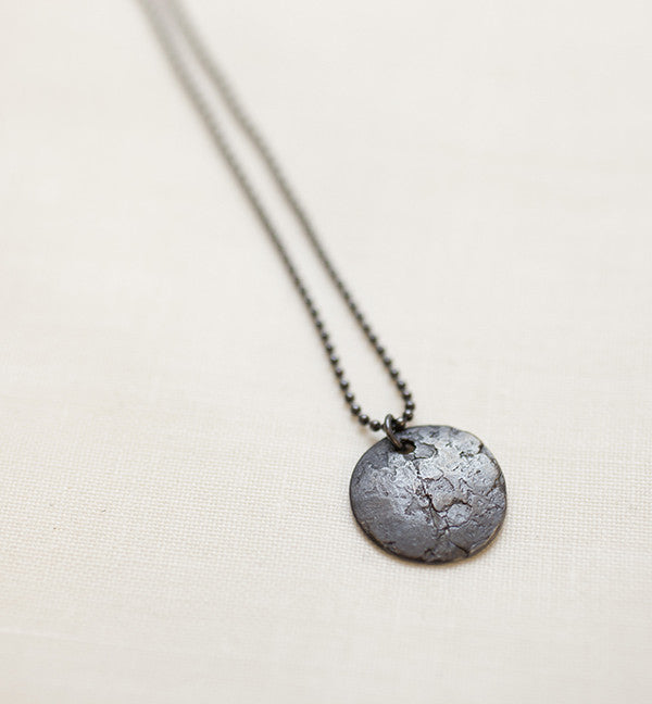 ORNAMENT & CRIME DARK MOON NECKLACE