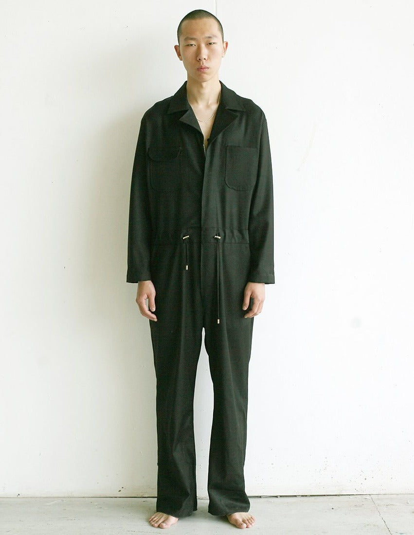 LOOK 13( BLACK WORKSUIT )