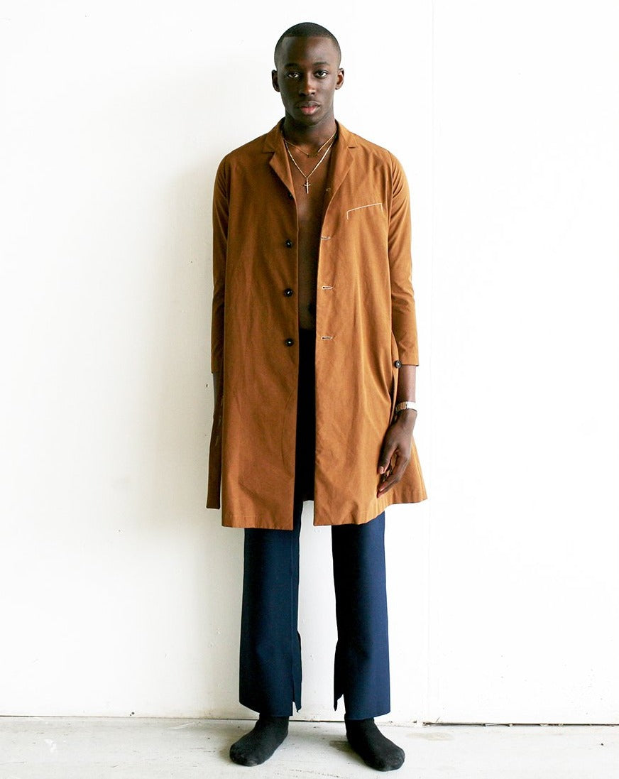 LOOK 15 (TAILORED RAINPROOF COAT)