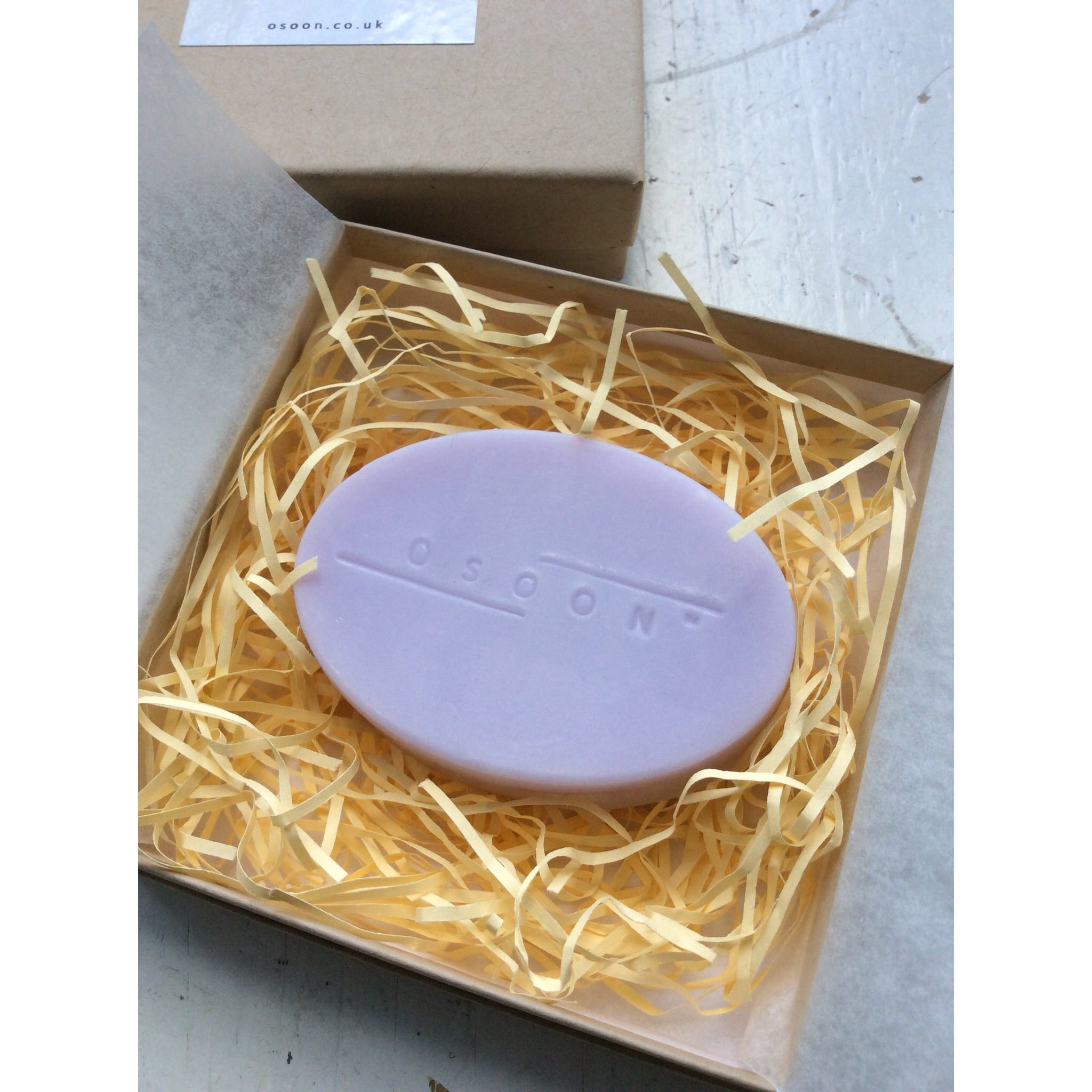OSOON HAND MADE SOAP / LAVENDER DREAM