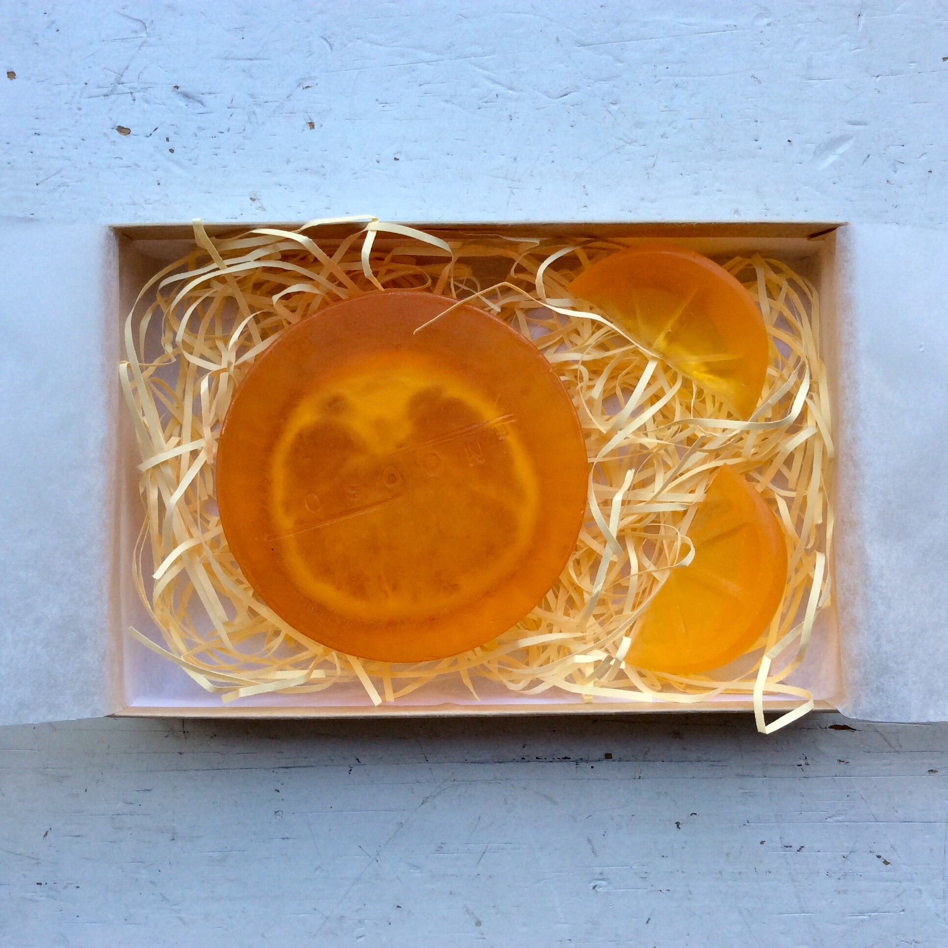 OSOON HAND MADE SOAP / ORANGE BLOSSOM