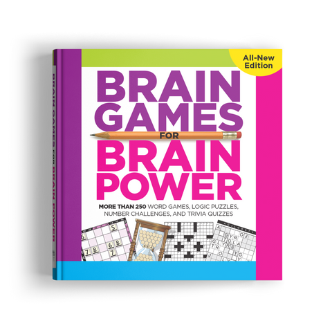 Brain Games for Brain Power (Volume 3)