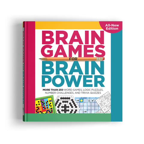 Brain Games for Brain Power (Volume 4)