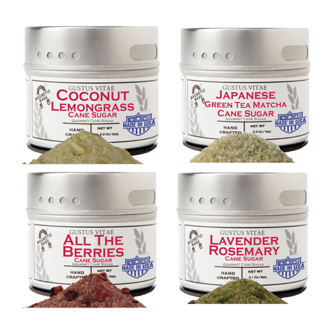 Gourmet Garden Sugars (Set of 4)