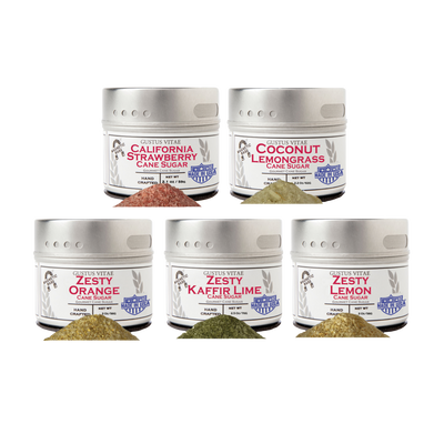 Zesty Gourmet Sugar Collection (Set of 5)