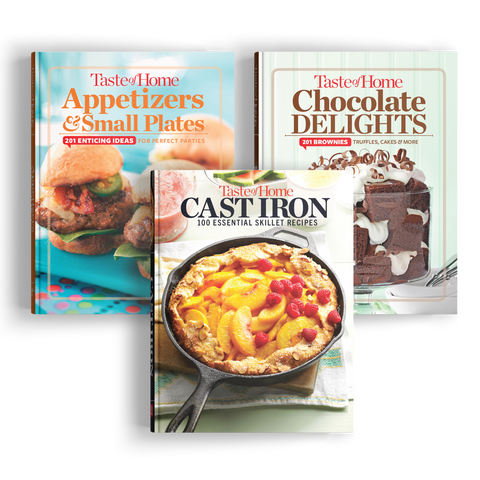 3-Piece Mini-Binder Cookbook Set