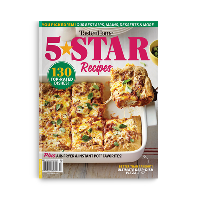 5 Star Recipes (Spring 2021)