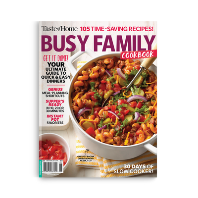 Busy Family Cookbook