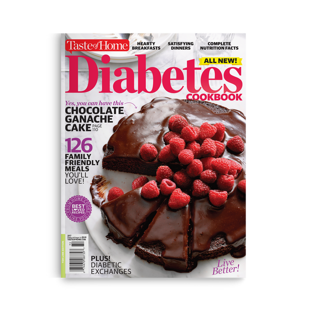 Diabetes Cookbook (2017)