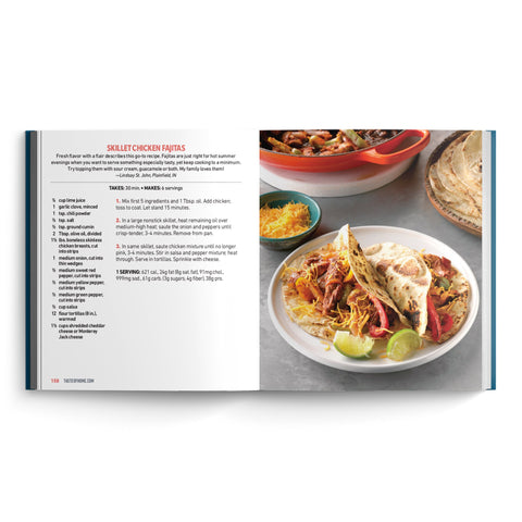 EZ-Read™ 30-Minute Meals