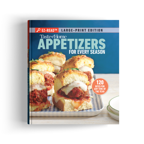 EZ-Read™ Appetizers for Every Season