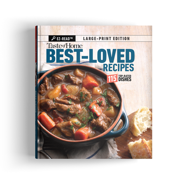 EZ-Read Best-Loved Recipes