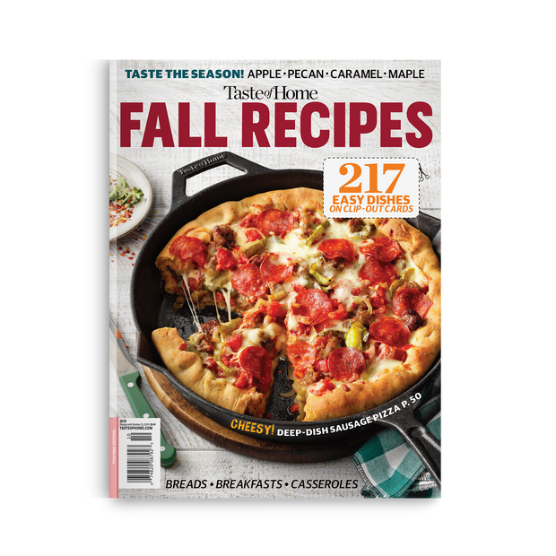 Fall Recipes (2019)