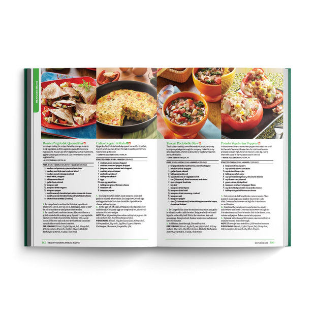 Healthy Cooking Annual Recipes (2014)