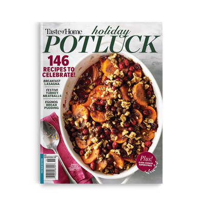 Holiday Potluck Recipes (Winter 2020)