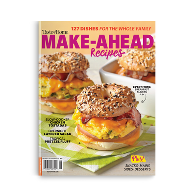 Make-Ahead Recipes (Summer 2020)