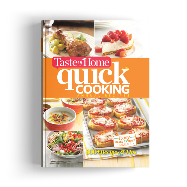 Quick Cooking Annual Recipes (2015)