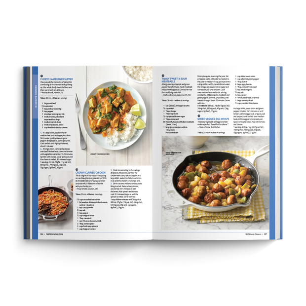 Quick Cooking Annual Recipes (2020)