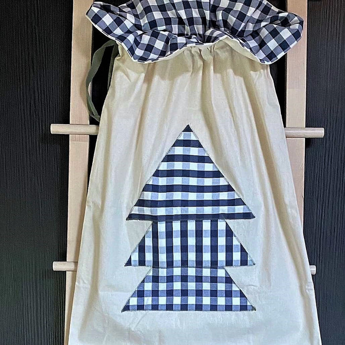 The Zac Gingham Toy Sack