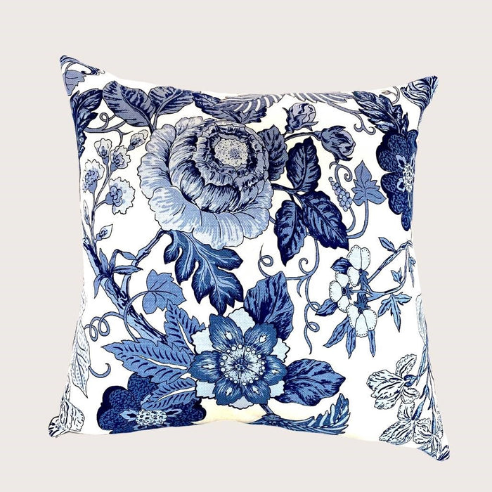 The Ava Floral Cushion - Small Square