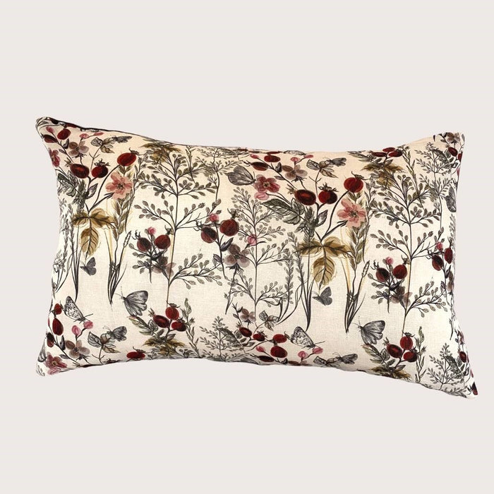 The Ivy Floral Cushion - Rectangle