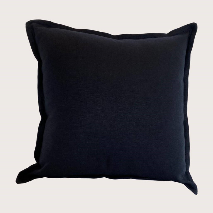The Kate Linen Cushion - Navy