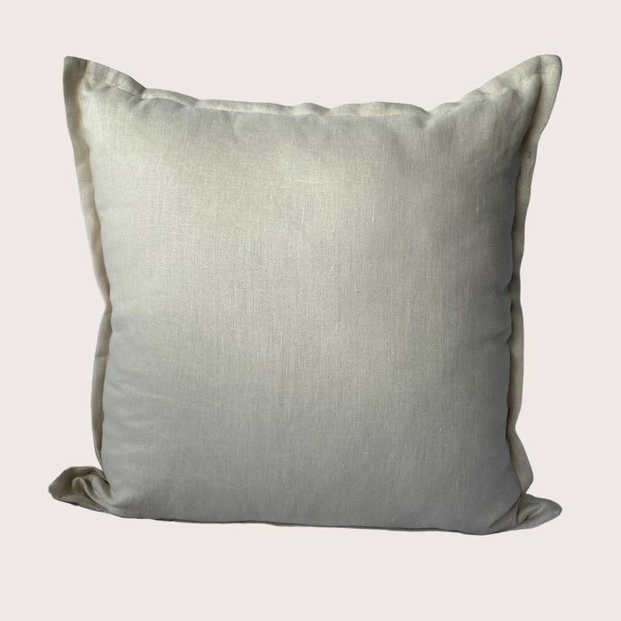 The Kate Linen Cushion - Stone