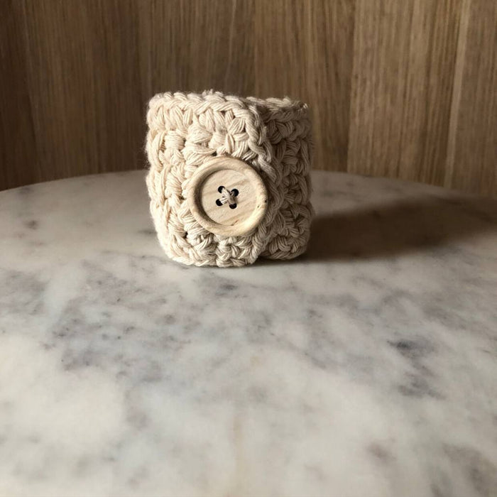 The Missy Napkin Ring - Sand (Set of 4)