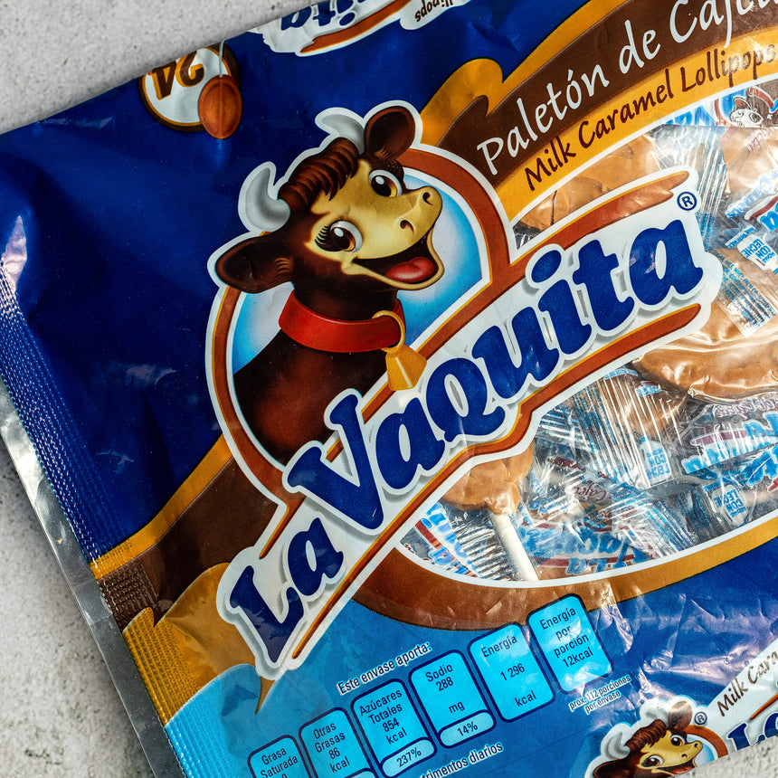 La Vaquita Milk Caramel Lollipops (1 piece)