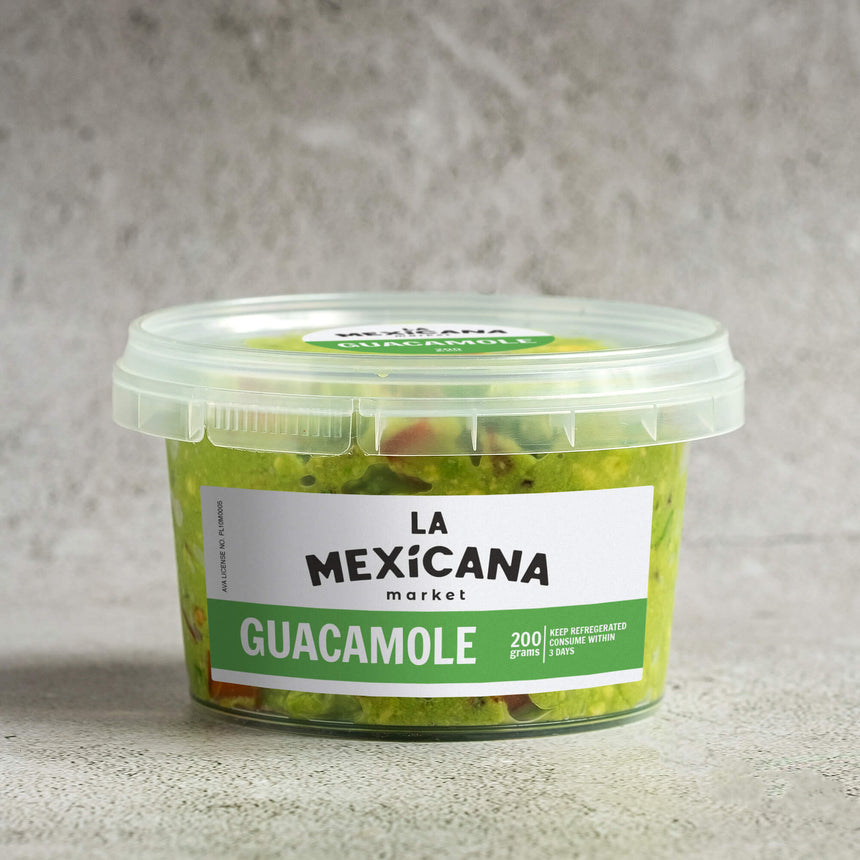 Freshly Made Guacamole (200g)