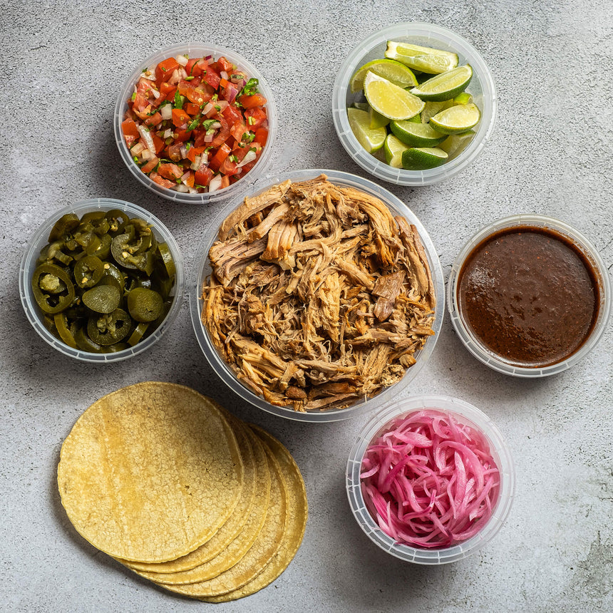 CARNITAS TACO KIT | Serves 4-6 pax