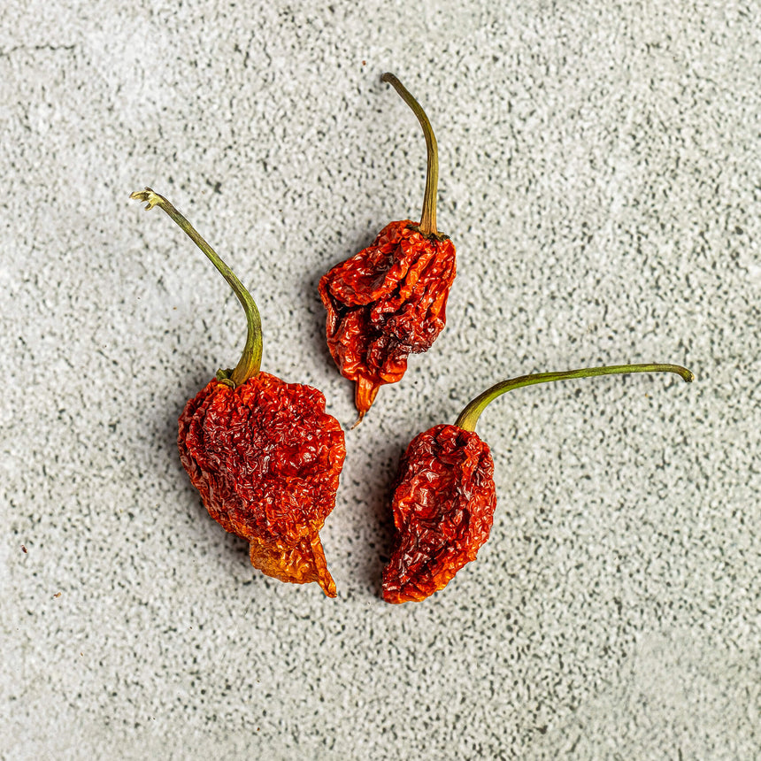 Dry Trinidad Scorpion Red