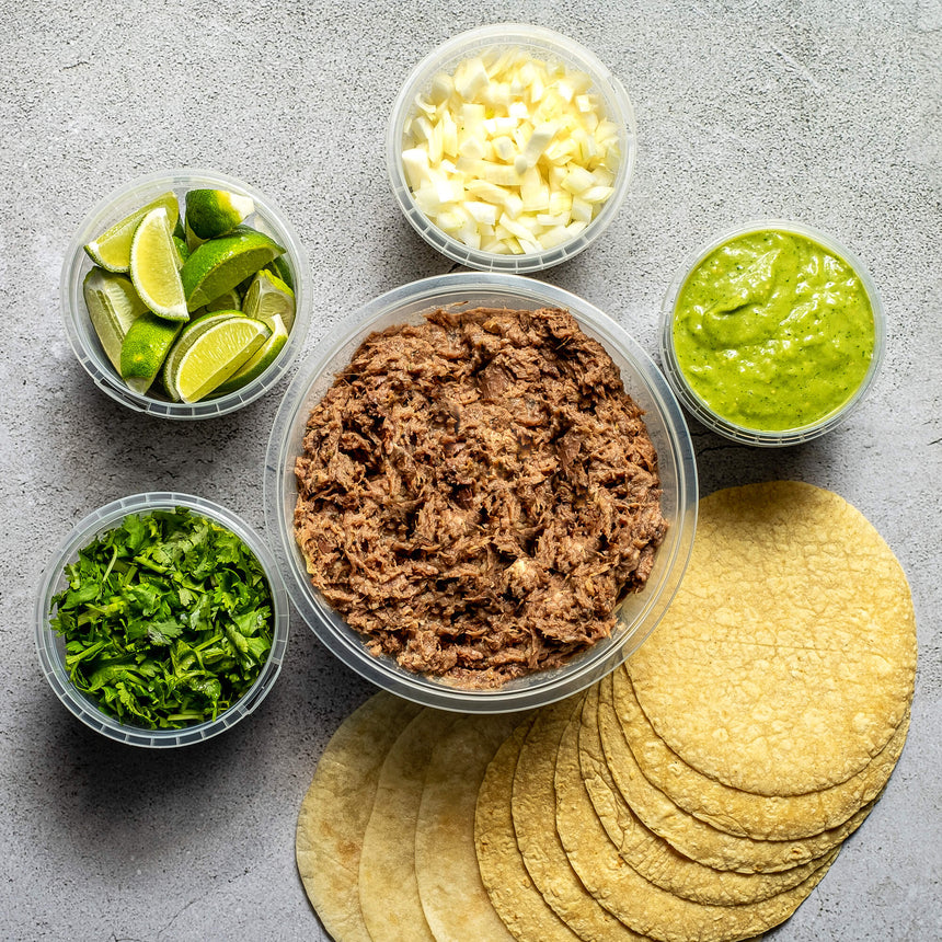 BARBACOA TACO KIT | Serves 4-6 pax