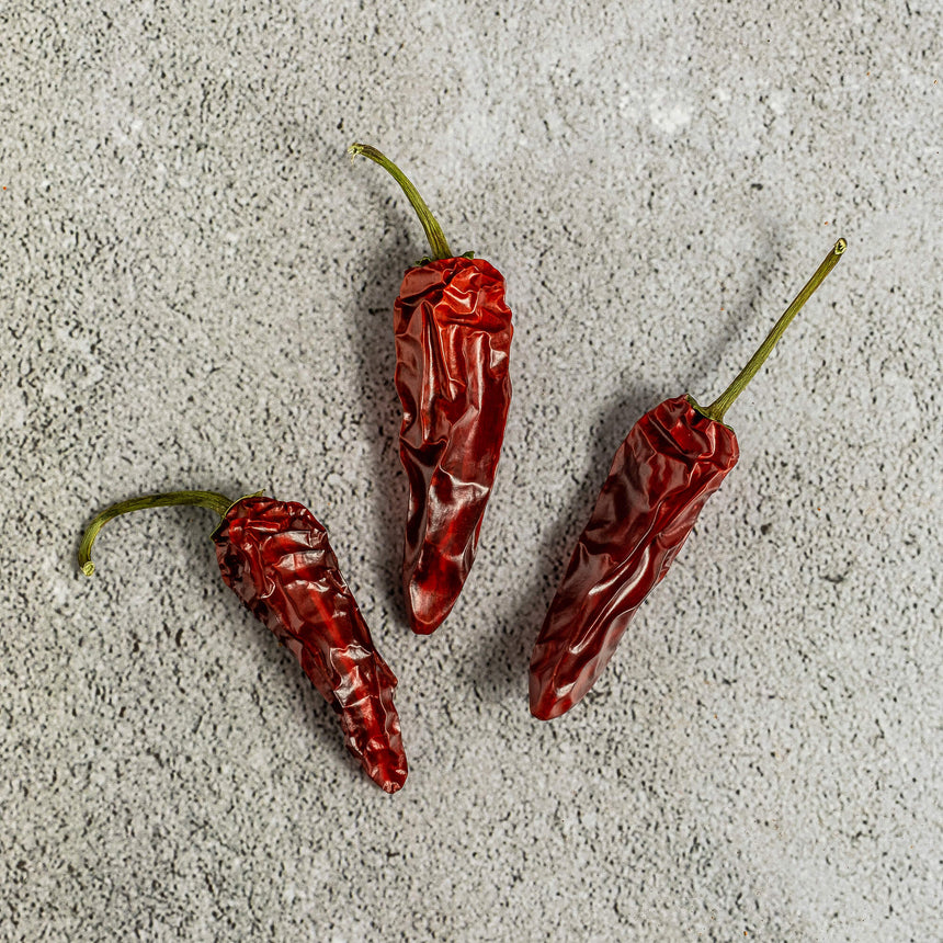Dry Jalapeño Red