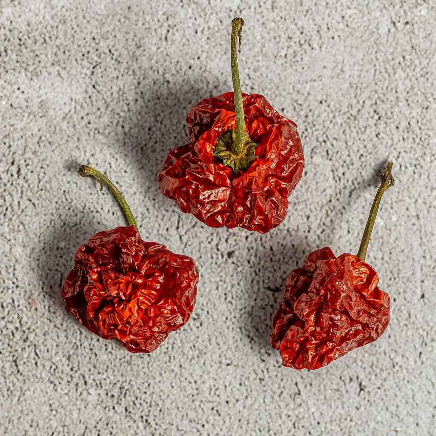 Dry Scotch Bonnet Red