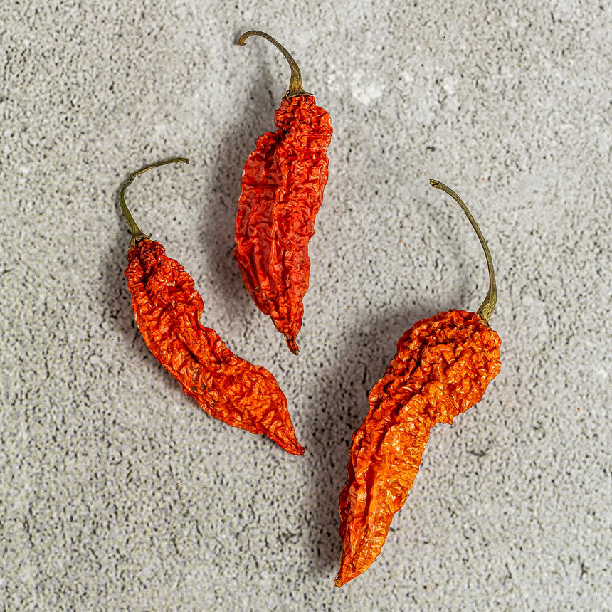 Dry Naga Red (Ghost Pepper)