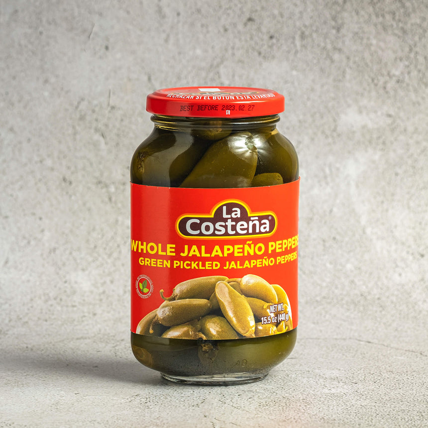 La Costena - Green Pickled Jalapeño Peppers (440g)