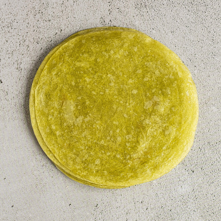 Spinach & Olive Oil Flour Tortillas 6''