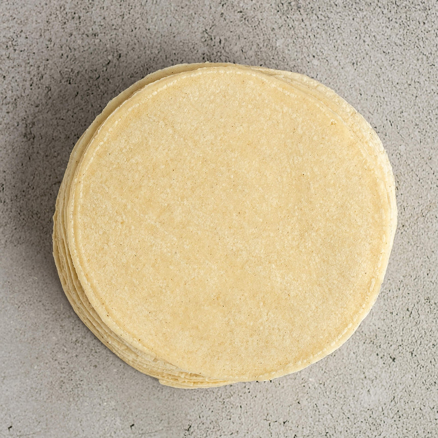 5.5'' White Corn Classic Tortillas (40 pieces)